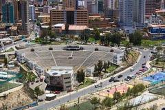 Teatro em La Paz, Bolívia do ar livre Fotos de Stock