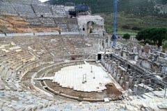 Teatro en Ephesus Imagen de archivo