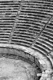 Teatro en Hierapolis Imágenes de archivo libres de regalías