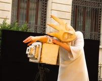Teatro en la calle Imagen de archivo libre de regalías