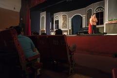 Teatro en la ciudad de Ho Chi Minh en Vietnam Fotos de archivo