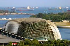 Teatro en Singapur céntrico Imágenes de archivo libres de regalías