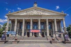 Teatro en Ternopil fotografía de archivo