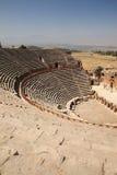 Teatro esterno a Hierapolis Turchia Fotografia Stock
