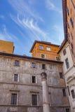 Teatro för Colonna dellaantico i Rome Royaltyfri Foto