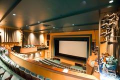 Teatro grande Fotografía de archivo libre de regalías