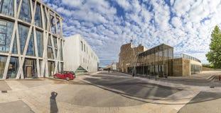 Teatro grande de provence e teatro da bandeira negra em en Prov do Aix Fotografia de Stock