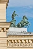 Teatro grande em Moscovo Fotografia de Stock Royalty Free