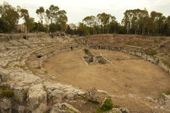 Teatro greco Immagine Stock Libera da Diritti
