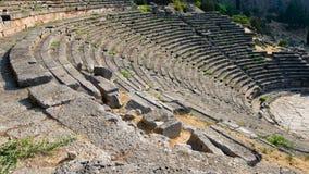 Teatro grego em Delphi Fotos de Stock