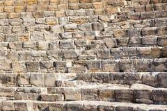 Teatro Grego-romano antigo em Kourion, Chipre fotos de stock royalty free