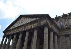 Teatro Guadalajara Messico di Degollado Fotografia Stock Libera da Diritti
