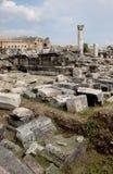Teatro in Hierapolis Fotografia Stock