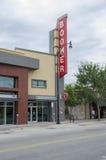 Teatro histórico del nacido en el baby-boom Imagen de archivo libre de regalías