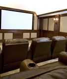 Teatro Home Fotos de Stock Royalty Free