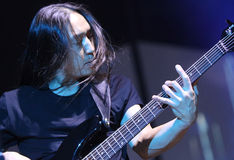 Teatro ideal vivo, John Myung fotografia de stock