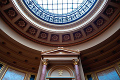 Teatro interior Foto de archivo libre de regalías