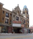 Teatro intermediario Foto de archivo