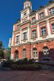 Teatro Ivan Radoev di dramma in città di Pleven, Bulgaria fotografie stock libere da diritti