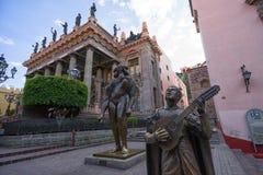 Teatro Juarez στην πόλη Guanajuato Στοκ εικόνες με δικαίωμα ελεύθερης χρήσης