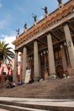 Teatro Juarez Guanajuato Stock Afbeeldingen