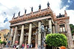 Teatro Juarez Guanajuato Fotografia Royalty Free