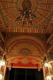 Teatro Juarez Stage Guanajuato. Detail of the main stage of Teatro Juarez theatre Stock Photo