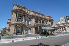 Teatro kolon Columbus Theatre - Buenos Aires, Argentina royaltyfria foton