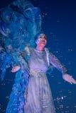 Teatro - l'angelo blu Immagini Stock
