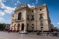 Teatro La凯瑞-戴兹-圣克拉拉,古巴 免版税库存照片