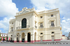 Teatro La Caridad Stock Photo