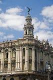 teatro la havana gran Кубы Стоковая Фотография RF