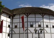 Teatro Londres del globo Imágenes de archivo libres de regalías