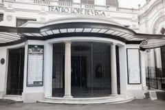 teatro Lope de维加 免版税库存图片