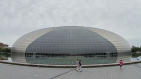 Teatro magnífico nacional en el d3ia 4k almacen de metraje de vídeo