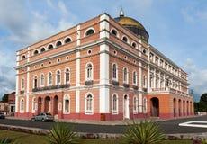 Teatro Manaus Brasil de Amazonas foto de stock