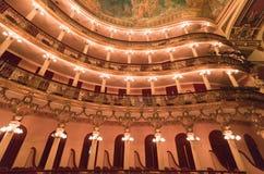 Teatro Manaus Brasil de Amazonas Fotos de Stock Royalty Free