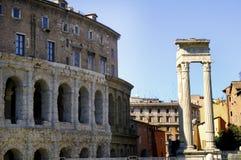 Teatro Marcellus w Rzym Zdjęcie Royalty Free