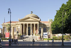 Teatro Massimo Royalty Free Stock Image