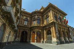 Teatro Massimo Bellini Fotos de Stock