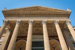 Teatro Massimo em Palermo Imagens de Stock