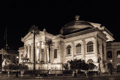 Teatro Massimo Royalty Free Stock Photos