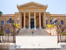 Teatro Massimo - opera house in Palermo, Sicily Stock Photography