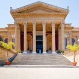 Teatro Massimo - opera house in Palermo, Sicily Stock Photos