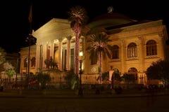 Teatro Massimo, Palerme Photographie stock libre de droits