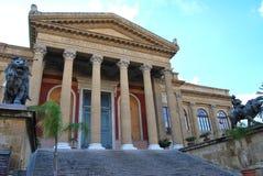 Teatro Massimo - Palerme Photos libres de droits
