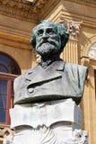 Teatro Massimo, Palerme, verdi de Giuseppe Photos libres de droits