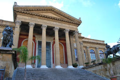 Teatro Massimo - Palermo Royalty Free Stock Photos