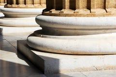 Teatro Massimo, palermo, estilo neoclássico Fotografia de Stock Royalty Free