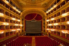 Teatro Massimo, Palermo, Italy. Famous Teatro Massimo in Palermo, Sicily, Italy Royalty Free Stock Photography